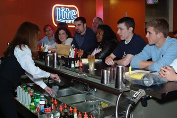 The Mixology Wine Institute in Philadelphia, Allentown, Cherry Hill and Princeton, New Jersey views bartending as a professional career. Learn behind an actual bar from our qualified instructors!