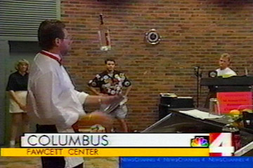 "Channel Four NBC covered the 1998 ""Best Bartender Contest"" in Columbus, Ohio."