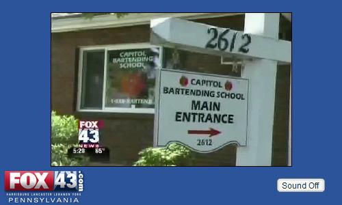 Harrisburg Capitol Bartending School
